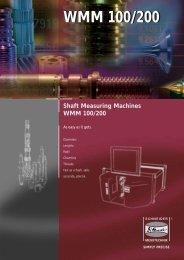 WMM 100/200 - Dr. Heinrich Schneider Messtechnik GmbH