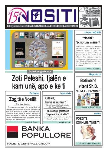 17 tetor 2009 (Nr. 467) - Gazeta Nositi