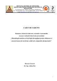 Caiet de sarcini - S.. - ITIM