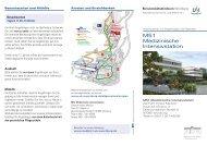 Besucherinformation Intensiv- und Überwachungsstation