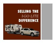 i-Go Difference Sales Training - EverGreen Recreational Vehicles