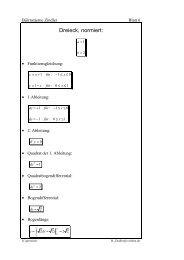 Dreieck, normiert: ∫