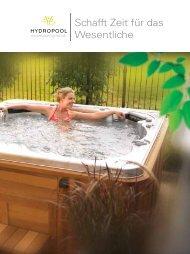 Schafft Zeit für das Wesentliche - Hydropool-Whirlpools.de