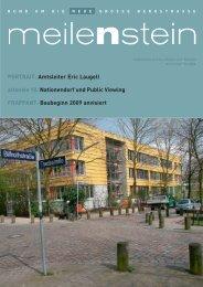 PORTRAIT: Amtsleiter Eric Laugell  altonale 10: Nationendorf und ...