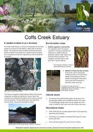Coffs Creek Estuary - Wetland Care Australia