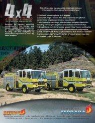 4x4 Chassis - Ferrara Fire Apparatus