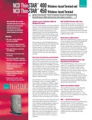 ThinSTAR 400 datasheet - ICON group