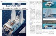 LAGOON 560 : - Multihulls World