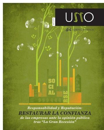 RESTAURAR LA CONFIANZA - d+i LLORENTE & CUENCA
