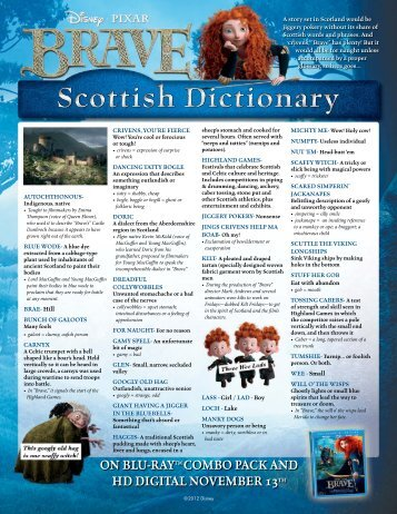 Scottish Dictionary