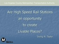 Are High Speed Rail Stations an opportunity to ... - Rail~Volution