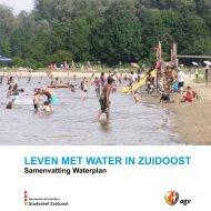 Samenvatting Waterplan - Stadsdeel Zuidoost