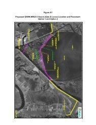 Figure A1 Proposed GIWW-MRGO Closure (Gate & Levee) Location ...