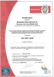 BKI ISO 9001:2008, ISO 14001:2004 and OHSAS 18001:2007