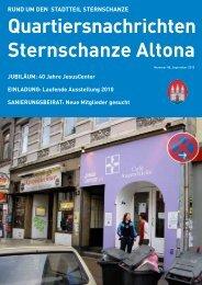 Quartiersnachrichten Sternschanze Altona
