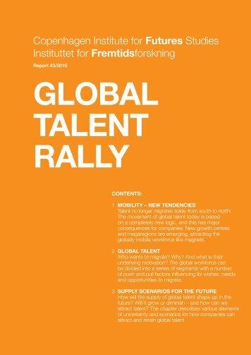 GLOBAL TALENT RALLY - Arengufond