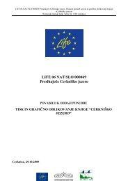 Razpisna dokumentacija - Presihajoče Cerkniško jezero - Notranjski ...