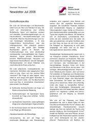 Newsletter Juli 2008 - Steierl-Pharma GmbH