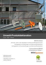 Umwelt-Produktdeklaration gemäss ISO 14025 - Institut Bauen und ...