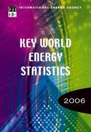 Key World Energy Statistics 2006