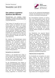 Das astheno-vegetative Syndrom des Mannes - Steierl-Pharma GmbH