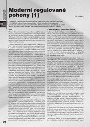Moderní regulované pohony (1) - ATP Journal
