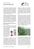 Newsletter März 2007 - Steierl-Pharma GmbH - Page 2