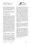 Newsletter März 2007 - Steierl-Pharma GmbH - Page 3
