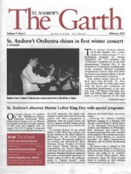 St. Andrew's Orchestra shines in first winter concert - Saint Andrew's ...