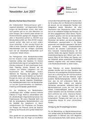 Newsletter Juni 2007 - Steierl-Pharma GmbH