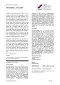 Newsletter Juni 2007 - Steierl-Pharma GmbH - Page 4