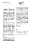 Newsletter Mai 2006 - Steierl-Pharma GmbH - Page 5