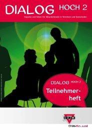 Teilnehmerheft - Dialog hoch 2