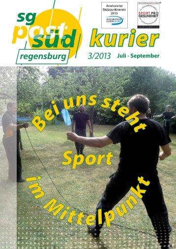 kurier - SG Post Süd Regensburg