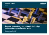 Regional network as a key rationale for foreign investors to acquire ...