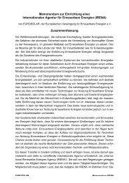 IRENA - Hermann Scheer