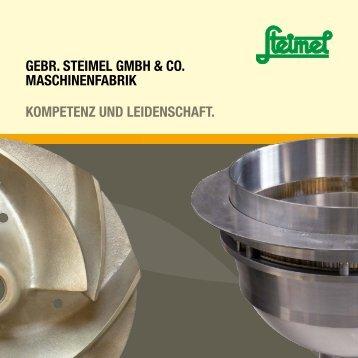 gebr. steimel gmbh & co. maschinenfabrik kompetenz und ...