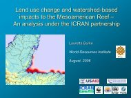 Land Use Change and Watershed-based Impacts to the ...
