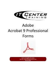Adobe Acrobat 9 Professional Forms - Academic Health Center ...