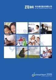 2009 Annual Report 2009 - ZTE