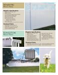 Polyvinyl Fence Brochure - Digger Specialties, Inc. - Page 3