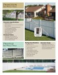 Polyvinyl Fence Brochure - Digger Specialties, Inc. - Page 6