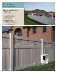 Polyvinyl Fence Brochure - Digger Specialties, Inc. - Page 7