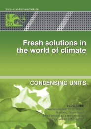 info@ecso-klimatechnik.de Tel/Fax: +49 (0) 911/818 9917