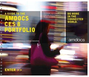 AmDOcs cEs 8 POrTfOlIO