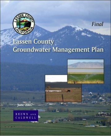 Lassen County Groundwater Management Plan