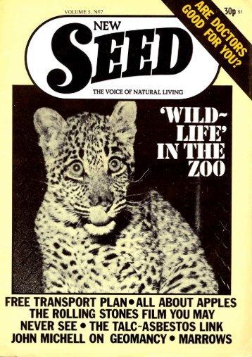 Volume 5 No. 7: July 1976 - Craig Sams