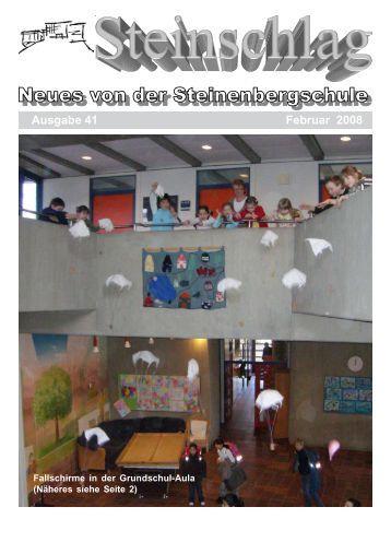 eine Aus- stellung ergänzt den WZG-Unter - Steinenbergschule