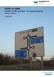 M5 Junction 12 Improvements - Highways Agency