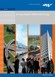 Annual Report 2008 DHV Group